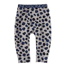 Bonds Baby Yarn Dye Spot Leopard Leggings