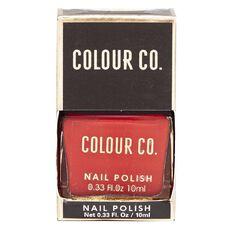 Colour Co. Nail Polish Red