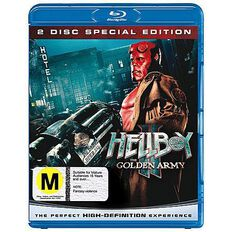 Hellboy 2 The Golden Army Blu-ray 1Disc