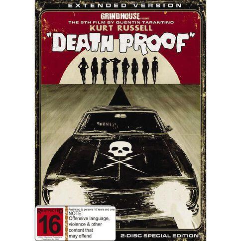 Death Proof DVD 2Discs