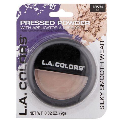 La Colors Pressed Powder Tan