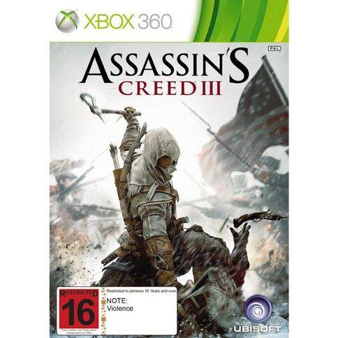 Xbox360 Assassins Creed 3