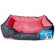 Max & Mittens Indoor/Outdoor Bed Red Large