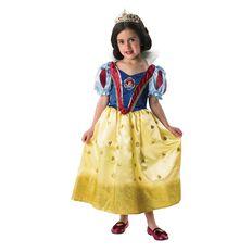 Disney Princess Glitters Costume Size 4-6 Assorted