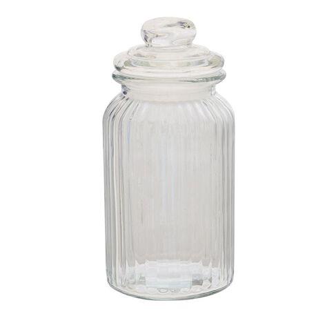 Sort It Ridge Glass Jar 1300ml