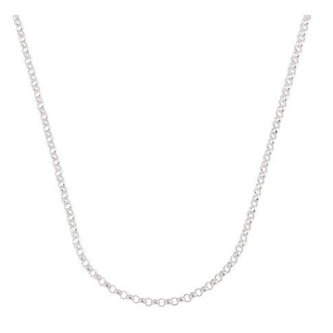 Sterling Silver 70 Gauge Belcher Chain 55cm