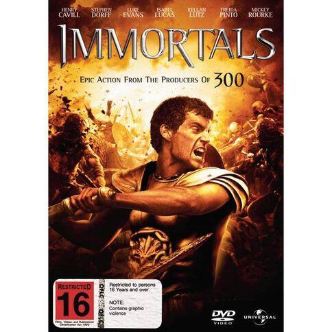 Immortals DVD 1Disc