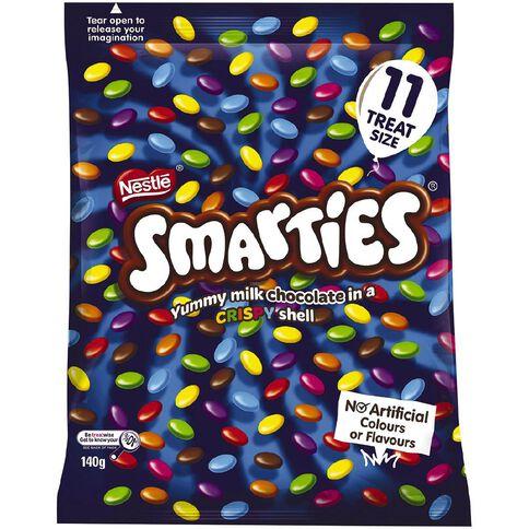 Nestle Smarties Fun Pack 140g