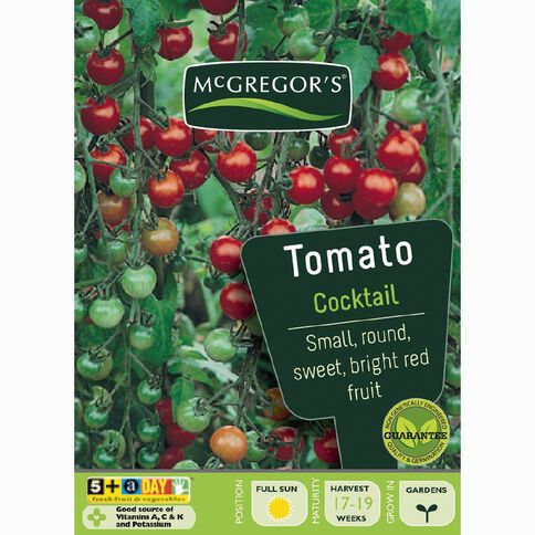 McGregor's Cocktail Tomato Vegetable Seeds