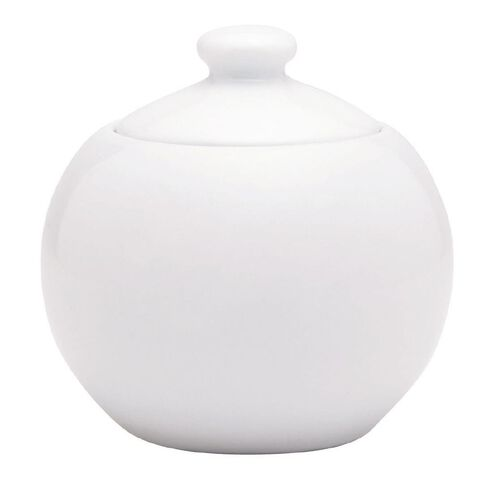 Harrison & Lane Serve Sugar Pot 9cm White
