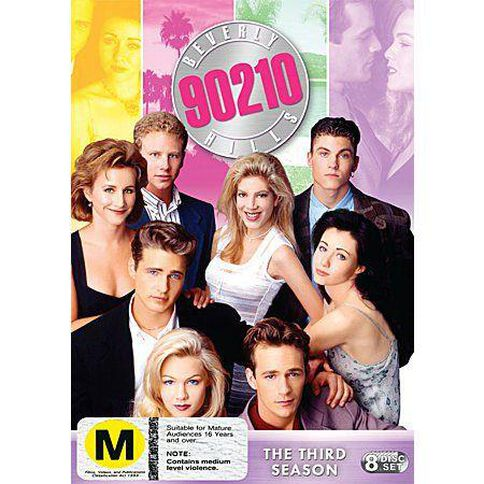 Beverly Hills 90210 Season 3 DVD 8Disc