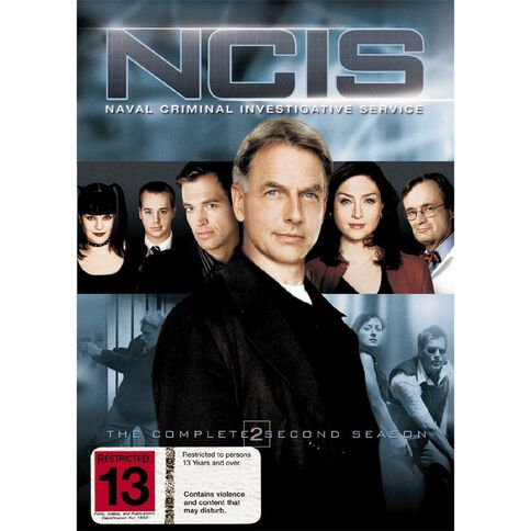 NCIS Season 2 DVD 6Disc