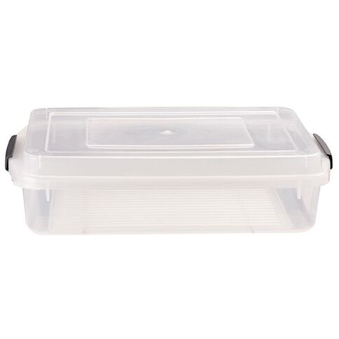 Taurus Clip Easy Container Clear 5L