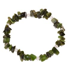 Jade Power Chip Bracelet