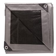 Westminster Tarpaulin Silver/Black 205gsm 6ft x 8ft