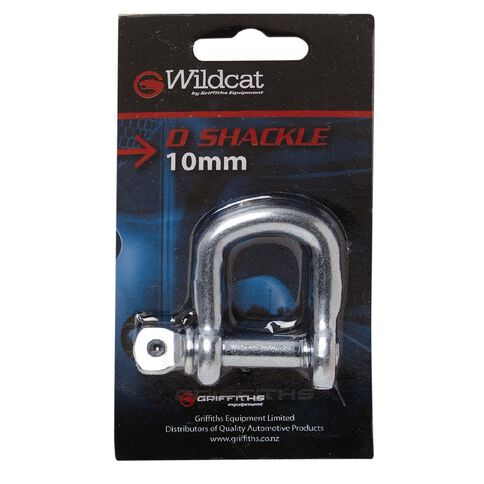Wildcat D Shackle 10mm