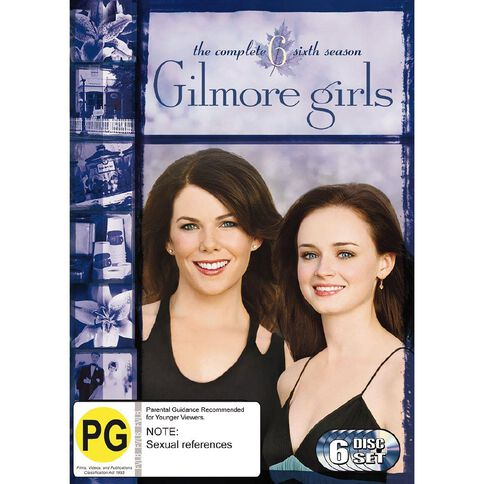 Gilmore Girls Season 6 DVD 6Disc