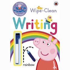 Peppa Pig: Practise with Peppa Wipe-Clean Writing by Ladybird
