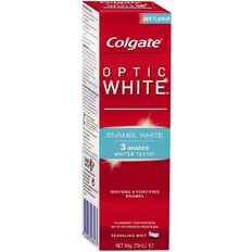 Colgate Toothpaste Optic White Enamel 95g