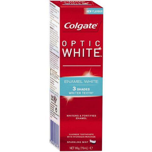 Colgate Toothpaste Optic White Enamel 95g