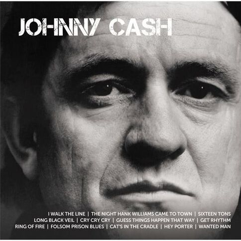 Icon CD by Johnny Cash 1Disc