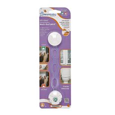 Dreambaby Ezy-Check Multi-Use Latch White
