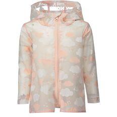 Basics Brand Toddler Girls' Cloud Print Raincoat
