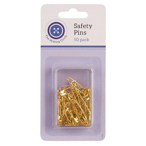 The Sewing Circle Safety Pins 50 Pieces