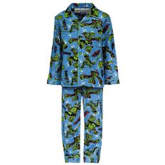 Teenage Mutant Ninja Turtles Boys' Flannelette Pyjama