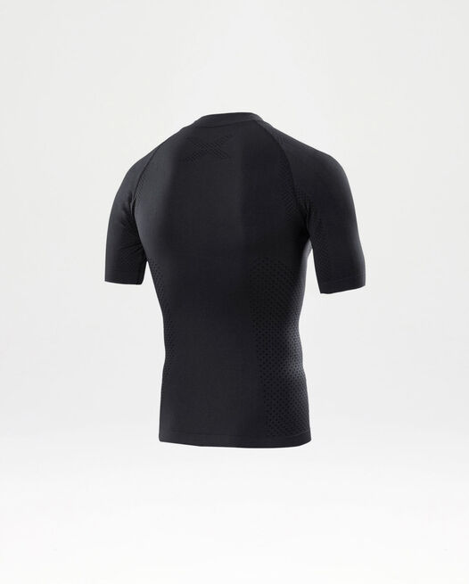Engineered Knit S/S Top