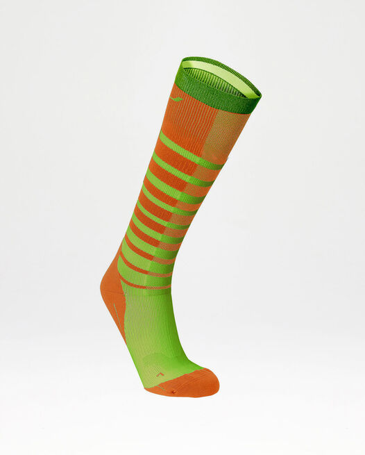 Striped Run Compression Socks