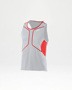 White/Neon Red