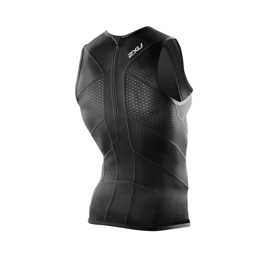 PERFORM REAR ZIP TRI SINGLET