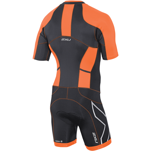 COMPRESSION SLVD FULL ZIP SUIT
