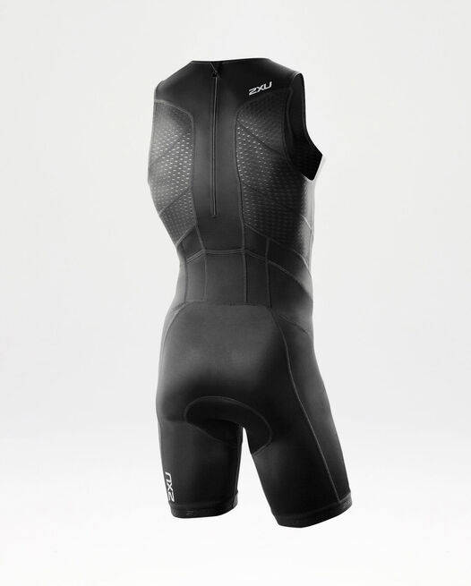 PERFORM REAR ZIP TRISUIT