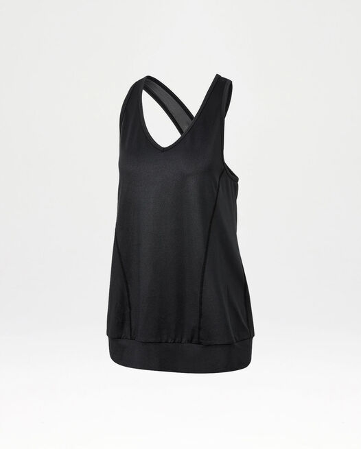 Studio Banded Cross Tank