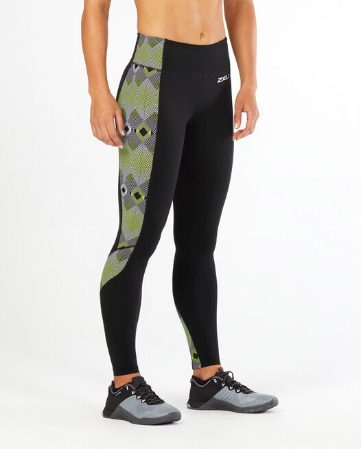 Fitness Compr Tights w Storage