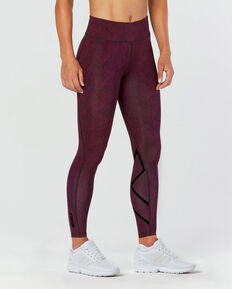 Mid Rise Print Compr. Tight