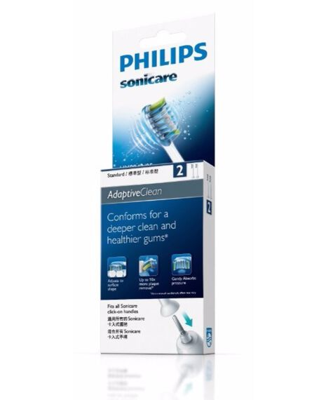 Adaptive Clean 2 Pack Toothbrush Heads