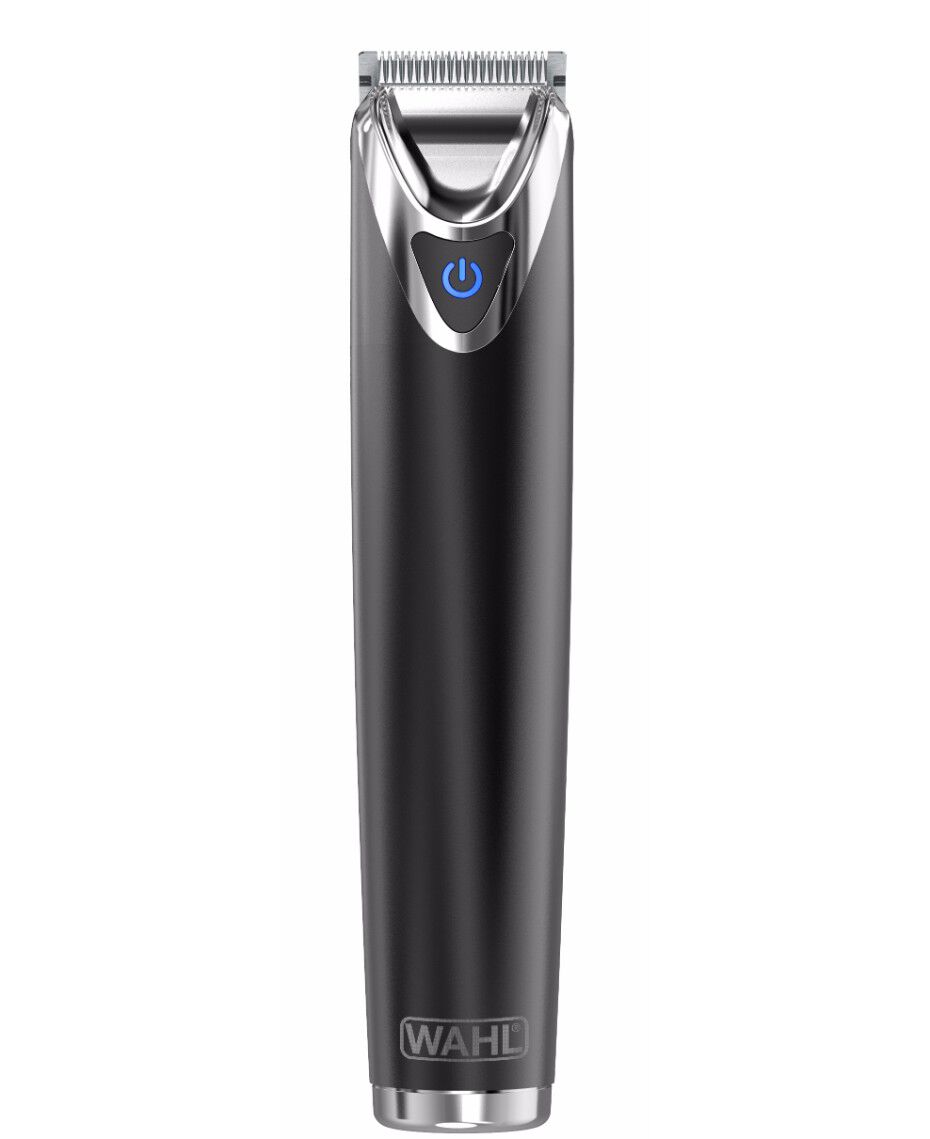 wahl stainless steel lithium ion beard trimmer slate. Black Bedroom Furniture Sets. Home Design Ideas