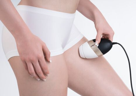 Bare IPL Long Term Hair Removal System - White