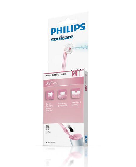 Airfloss Pink 2 Pack Toothbrush Heads