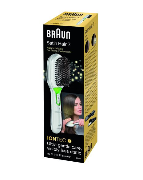 Satin Hair Brush Iontec 750
