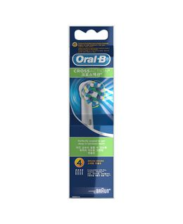 Cross Action Toothbrush Head Refills 4 Pack