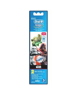 Kids Disney STAR WARS Toothbrush Head Refills 2 Pack
