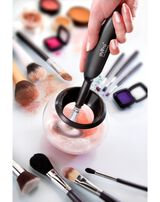 Makeup brush cleaner shaver shop