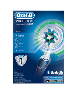 Oral-B PRO 3000 Electric Toothbrush incl. 3 Brush Head Refills
