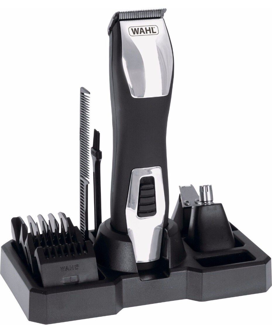 wahl groomsman pro beard trimmer shaver shop. Black Bedroom Furniture Sets. Home Design Ideas