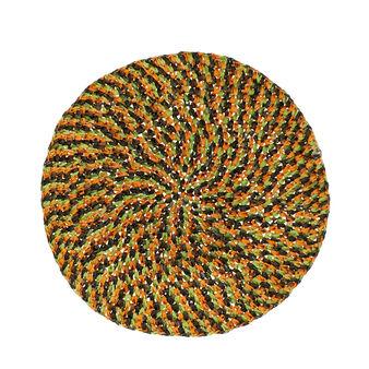 Tovaglietta rotonda multicolore