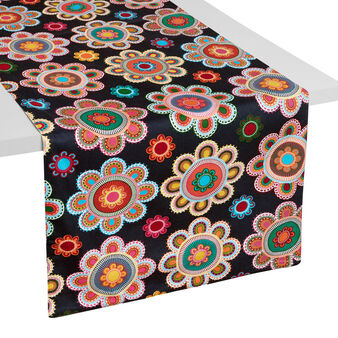 Runner double face stampa Gipsy Flower